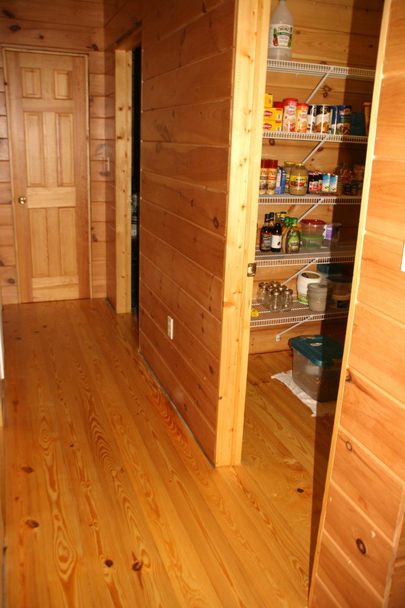 Finished Hallway and Pantry